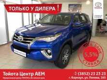 Toyota Fortuner, 2018 г., Барнаул