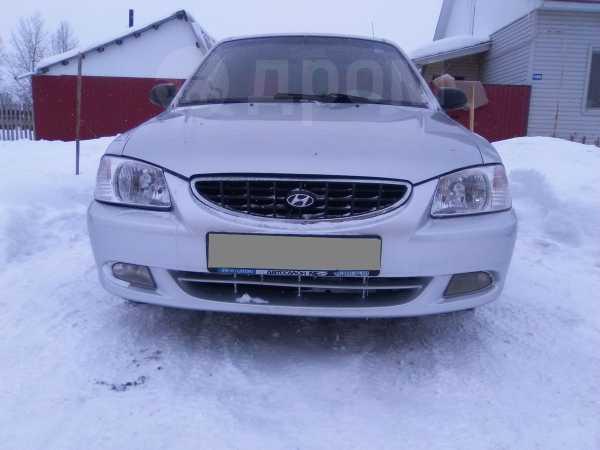 Hyundai Accent, 2003 год, 180 000 руб.