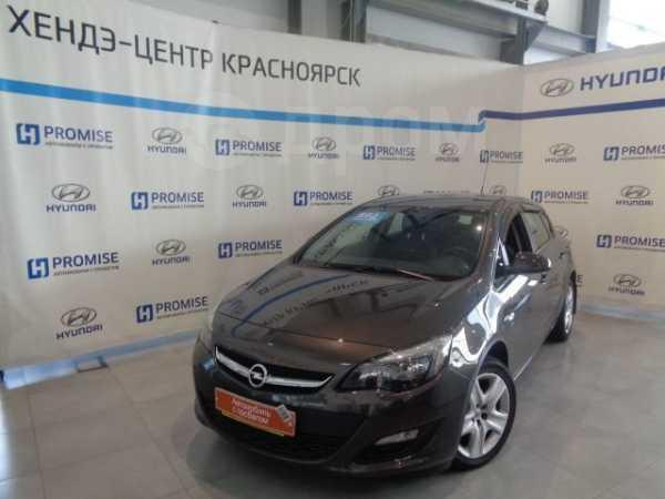 Opel Astra, 2014 год, 571 500 руб.