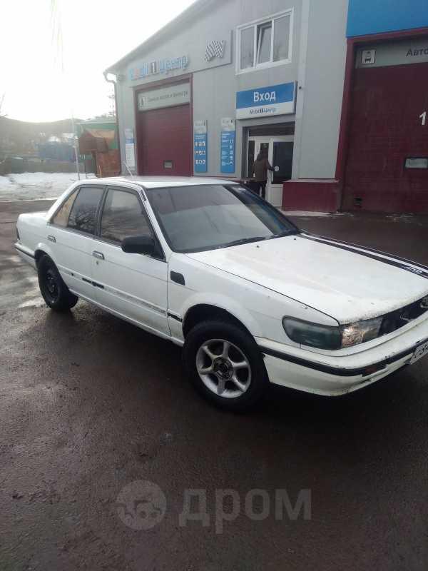 Nissan Bluebird, 1988 год, 45 000 руб.
