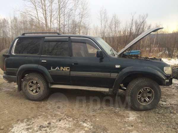 Toyota Land Cruiser, 1995 год, 180 000 руб.