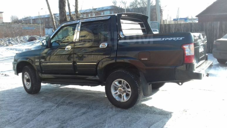 SsangYong Musso Sports, 2003 год, 340 000 руб.
