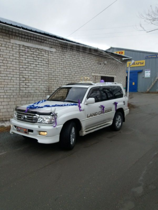 Toyota Land Cruiser, 2001 год, 980 000 руб.