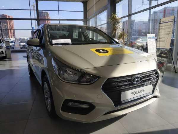 Hyundai Solaris, 2019 год, 915 495 руб.