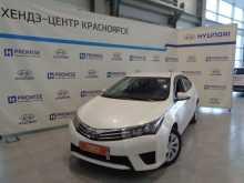 Красноярск Corolla 2014
