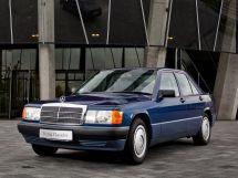 Mercedes-Benz 190 рестайлинг 1988, седан, 1 поколение, 190