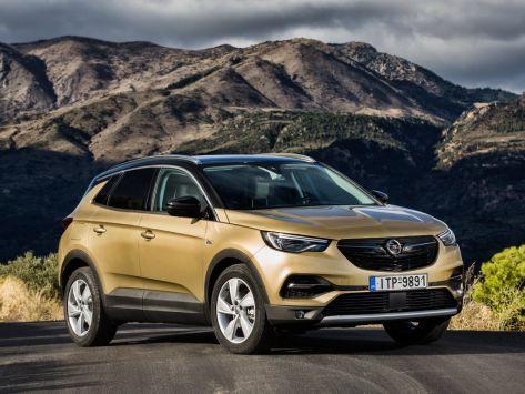 Opel Grandland X  04.2017 -  н.в.