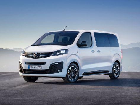 Opel Zafira Life  01.2019 -  н.в.