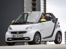 Smart Fortwo 2-й рестайлинг 2012, открытый кузов, 2 поколение