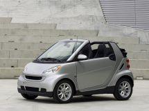Smart Fortwo рестайлинг 2010, открытый кузов, 2 поколение, W451