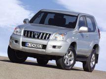 Toyota Land Cruiser Prado 3 поколение, 01.2002 - 12.2009, Джип/SUV 3 дв.