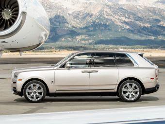 Rolls-Royce Cullinan стал одним из дебютантов списка