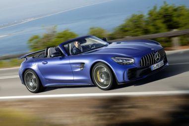Mercedes-AMG GT R стал родстером