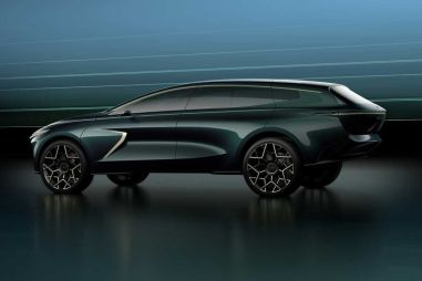 Aston Martin представил очень необычный кроссовер Lagonda