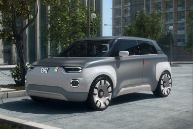 FIAT представил в Женеве концептуальный электрокар-конструктор