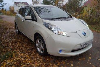 В большинстве российских городов электромобили остаются диковинкой