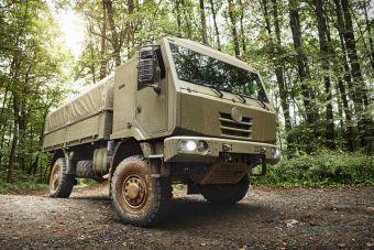 Чешская Tatra выпустила новый армейский грузовик 4x4