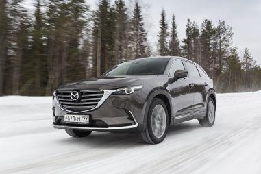 Mazda представила обновленный кроссовер CX-9 в России: дешевле предшественника