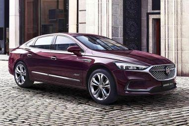 Изысканный и элегантный: GM опубликовал фото нового Buick LaCrosse