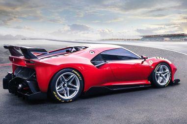 Новая гоночная модель Ferrari P80/C создана в единственном экземпляре