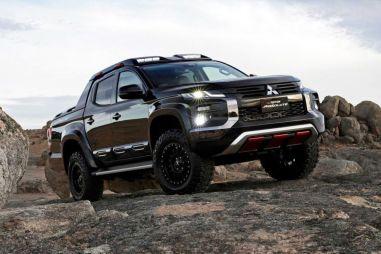 Mitsubishi представила брутальную версию L200 (в духе Ford Raptor)