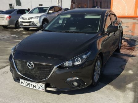 Mazda Mazda3 2014 - отзыв владельца