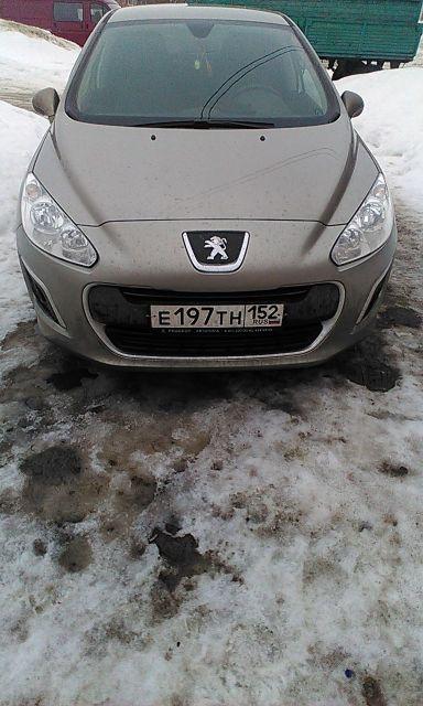 Peugeot 308 2011 отзыв автора | Дата публикации 01.02.2019.