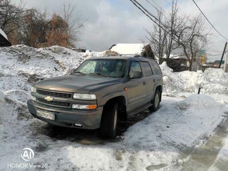 Chevrolet Tahoe 2002 - отзыв владельца