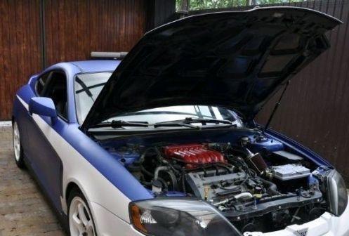 Hyundai Tiburon 2004 - отзыв владельца