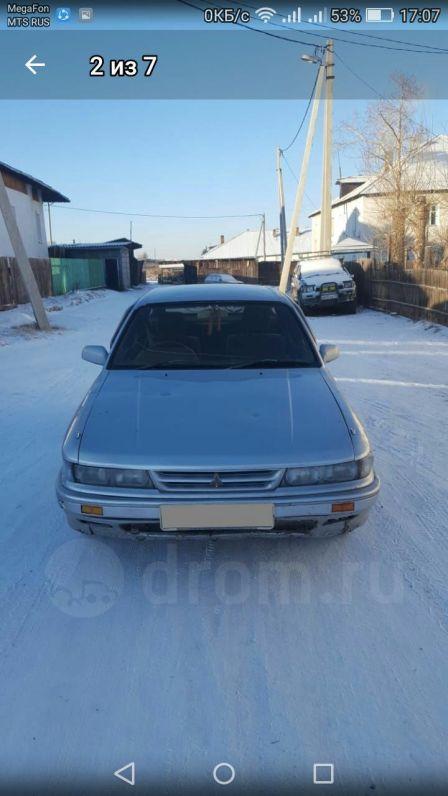 Mitsubishi Eterna 1988 - отзыв владельца