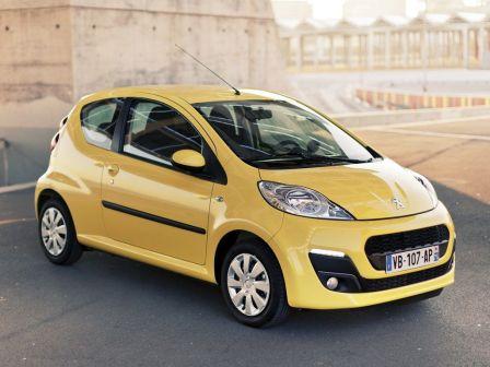 Peugeot 107 2013 - отзыв владельца