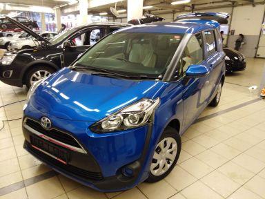 Toyota Sienta 2015 отзыв автора | Дата публикации 29.03.2019.