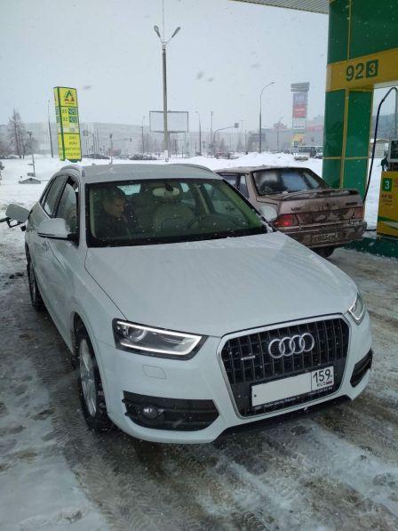 Audi Q3 2013 - отзыв владельца