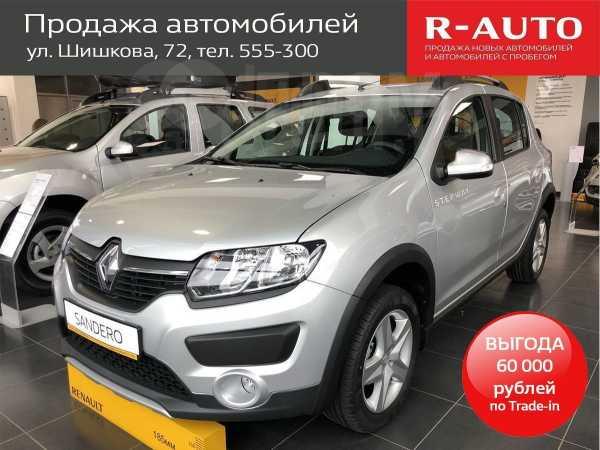 Renault Sandero Stepway, 2018 год, 781 990 руб.