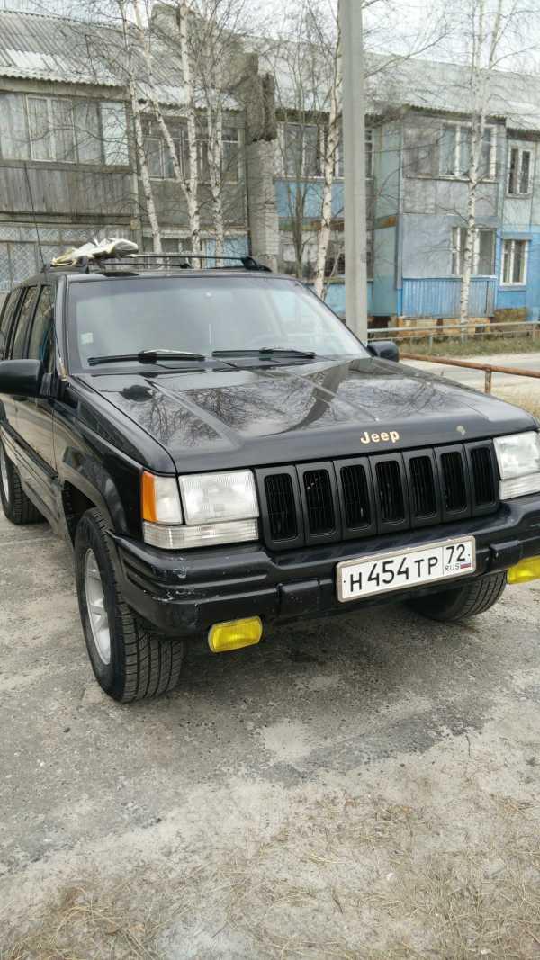 Jeep Grand Cherokee, 1996 год, 180 000 руб.