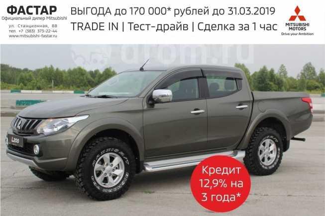 Mitsubishi L200, 2017 год, 2 014 000 руб.