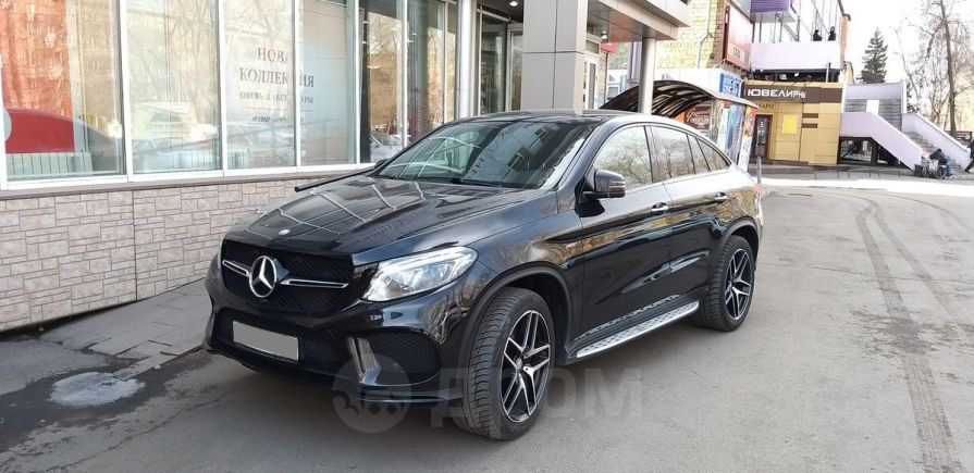Mercedes-Benz GLE Coupe, 2016 год, 4 100 000 руб.