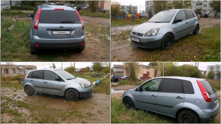 Ford Fiesta, 2007 год, 208 000 руб.