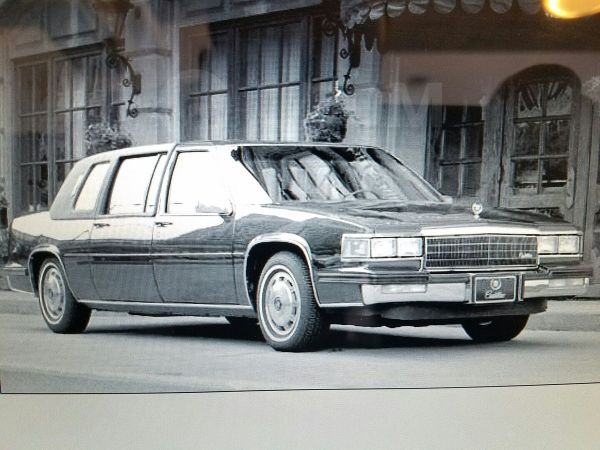 Cadillac Fleetwood, 1986 год, 730 000 руб.