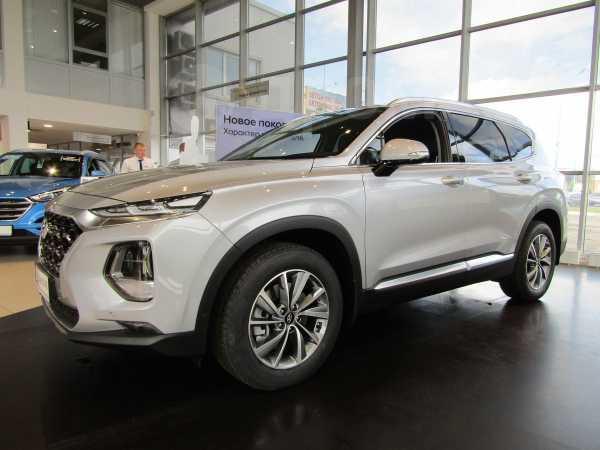Hyundai Santa Fe, 2018 год, 2 604 000 руб.