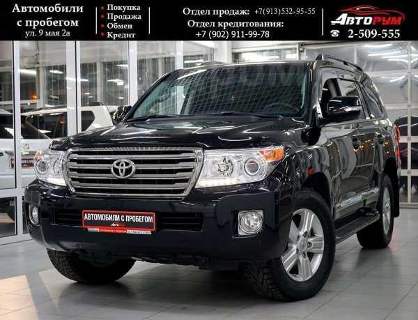 Toyota Land Cruiser, 2015 год, 2 857 000 руб.