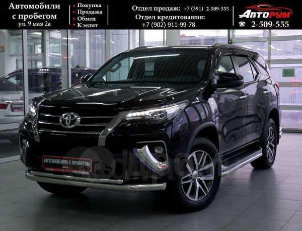 Toyota Fortuner, 2017 год, 2 547 000 руб.
