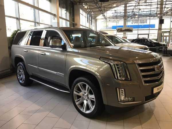Cadillac Escalade, 2018 год, 4 540 000 руб.