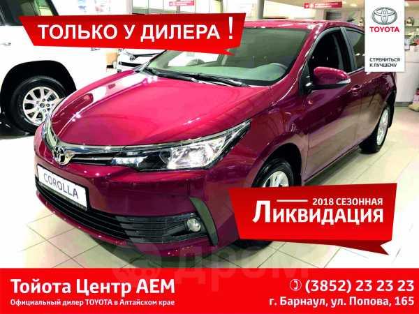 Toyota Corolla, 2018 год, 1 279 500 руб.