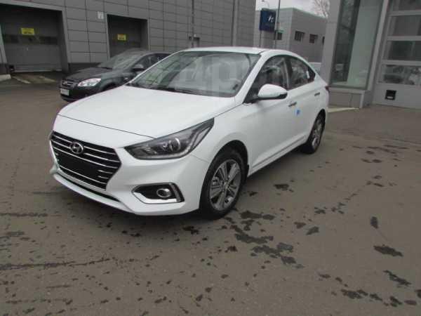Hyundai Solaris, 2018 год, 843 000 руб.