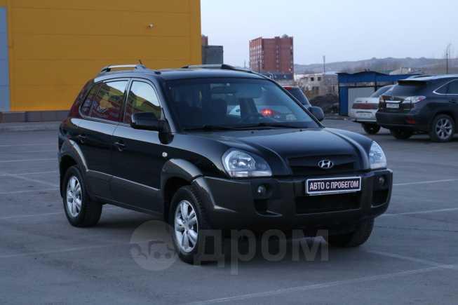 Hyundai Tucson, 2008 год, 508 000 руб.