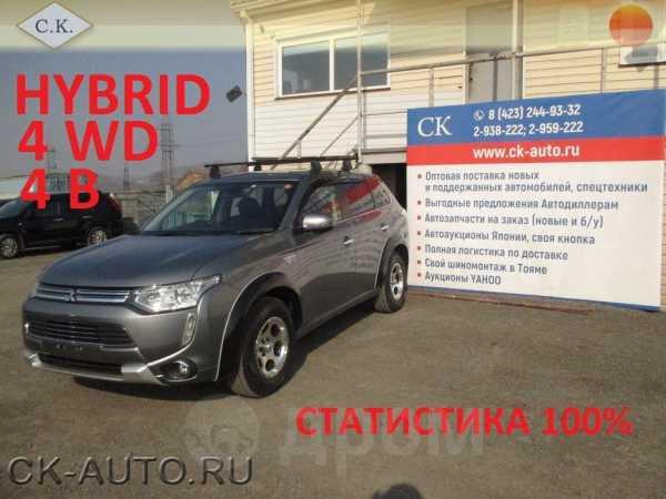 Mitsubishi Outlander, 2014 год, 1 309 000 руб.