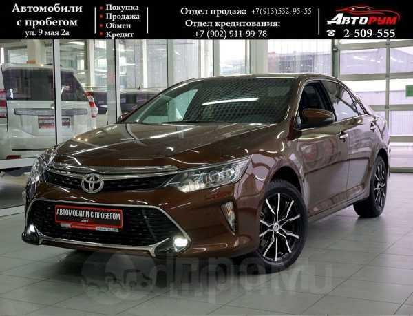 Toyota Camry, 2017 год, 1 677 000 руб.