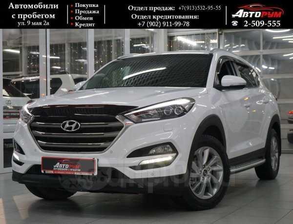 Hyundai Tucson, 2017 год, 1 647 000 руб.
