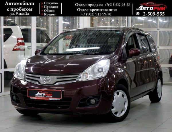 Nissan Note, 2010 год, 457 000 руб.